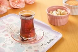 Tantitoni - 12 parça kafes desenli çay bardağı takımı (1)