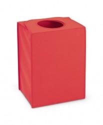 BRABANTIA - warm red kırmızı köşeli çamaşır sepeti 55l