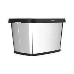 BRABANTIA - brıllıant steel büro tipi çöp kutusu 10 l (1)