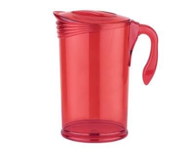 kırmızı akrilik sürahi 2l