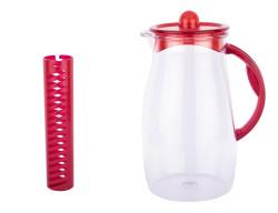 TANTİTONİ - kırmızı plastik detoks sürahisi 2.5l (1)