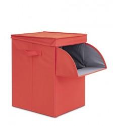BRABANTIA - warm red köşeli çamaşır sepeti 35l