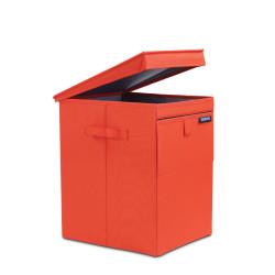 BRABANTIA - warm red köşeli çamaşır sepeti 35l (1)