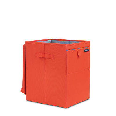 warm red köşeli çamaşır sepeti 35l