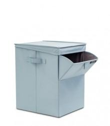 BRABANTIA - pastel mınt köşeli çamaşır sepeti 35l