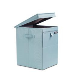 BRABANTIA - pastel mınt köşeli çamaşır sepeti 35l (1)
