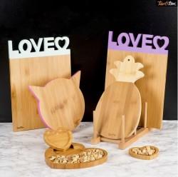 Tantitoni - MINT LOVE BAMBU KESME TAHTASI 33.5X23.5X1.2CM (1)