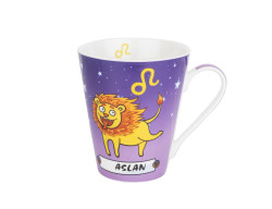 Tantitoni - NEW BONE CHINA ASLAN BURCU KUPA 330ML