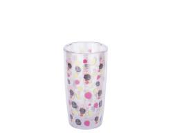 TANTİTONİ - pembe pipetli plastik detoks bardak 450ml (1)