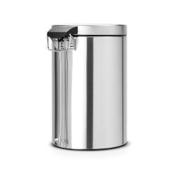 BRABANTIA - classıc matt steel pedallı çöp kutusu 12l (1)