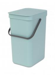 BRABANTIA - sort&go mint plastik çöp kovası 12l